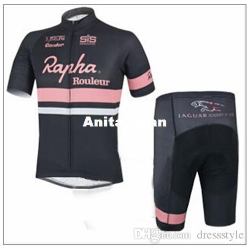 29df12ac3 2015 Best Sale Rapha Rouleur Bike Wear Cycling Jerseys Black Pink ...