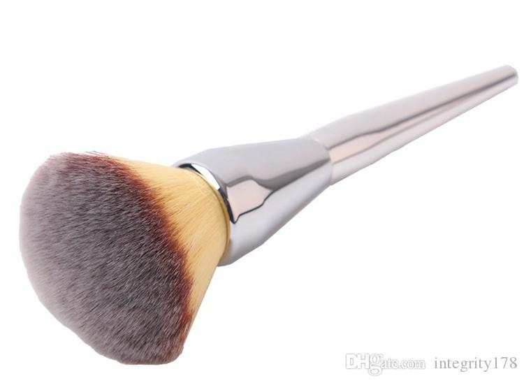 TOP Quality New Ulta Silver Metal Handle Synthetic Hair It NO. 211 Loose Powder Makeup Brushes