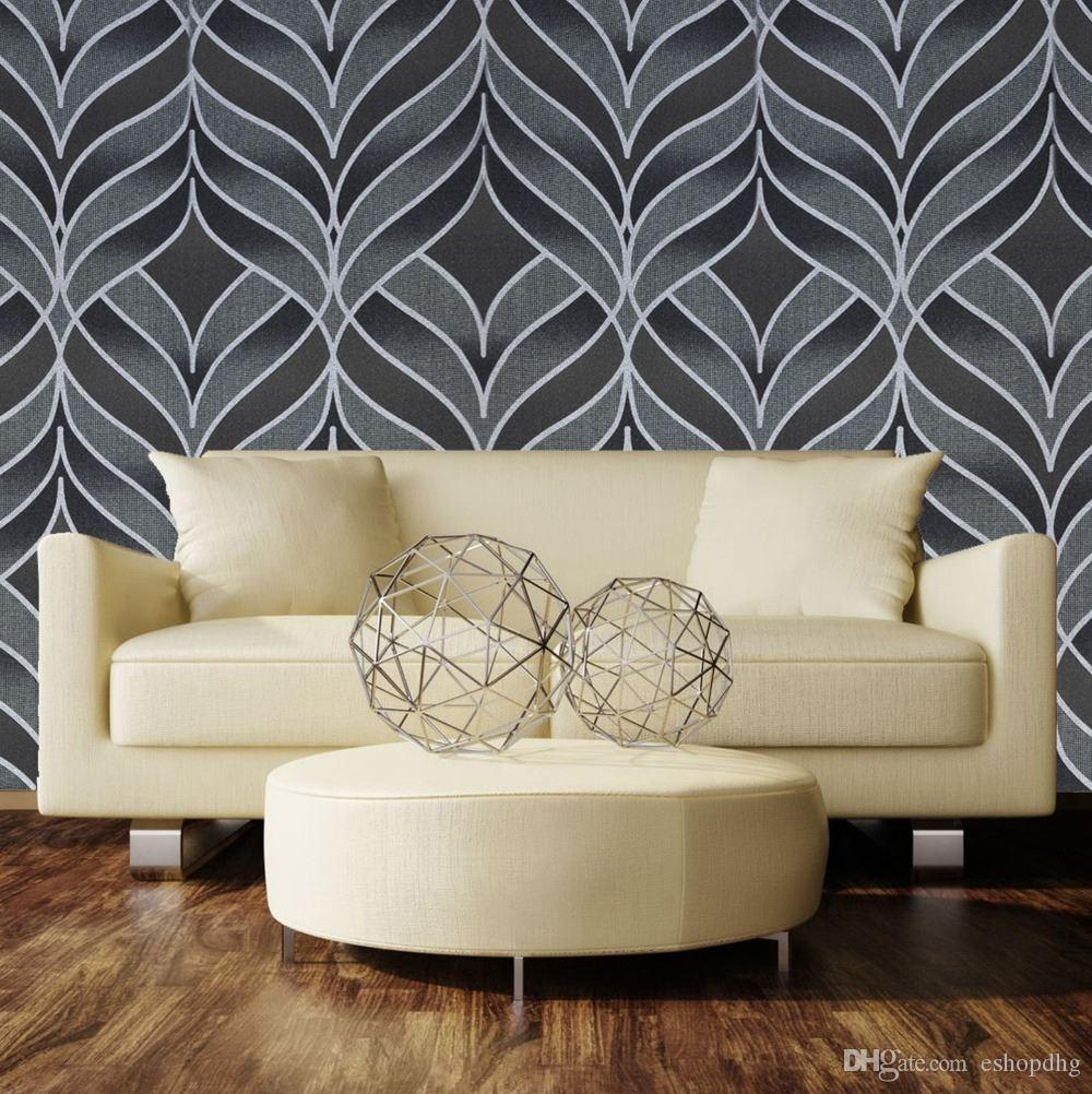 cheap geometric wallpaper living room free shipping geometric cheap paper wallpapers wallpaper best waterproof living room paper sticker wallpaper