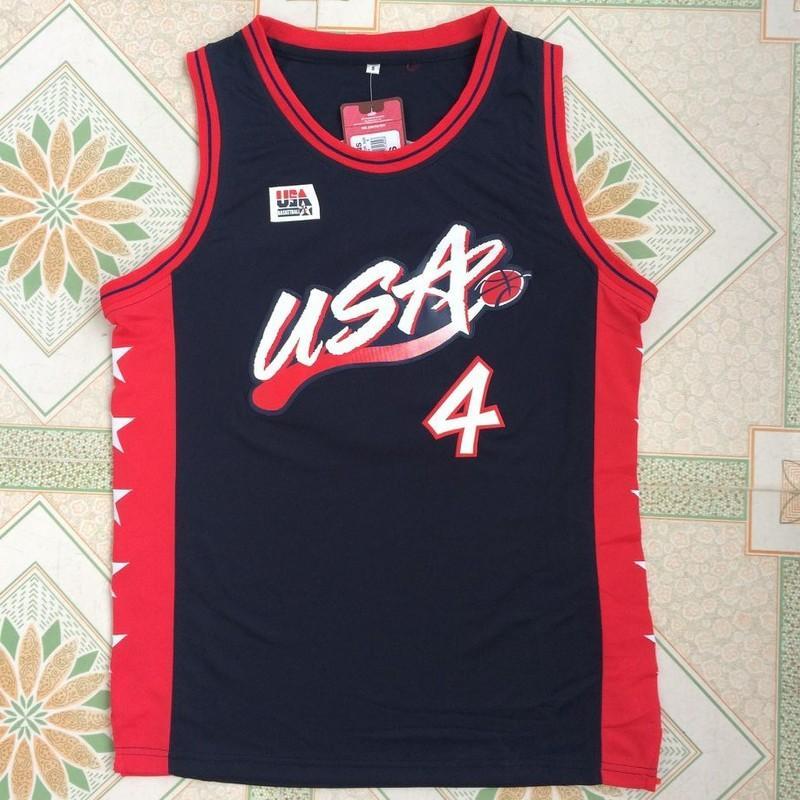 8ca47692c0ab ... 2017 Cheap 2017 Hot Sale 4 Charles Barkley Basketball Jerseys Retro  1996 Atlanta Olympic Games Edition Mens Adidas ...