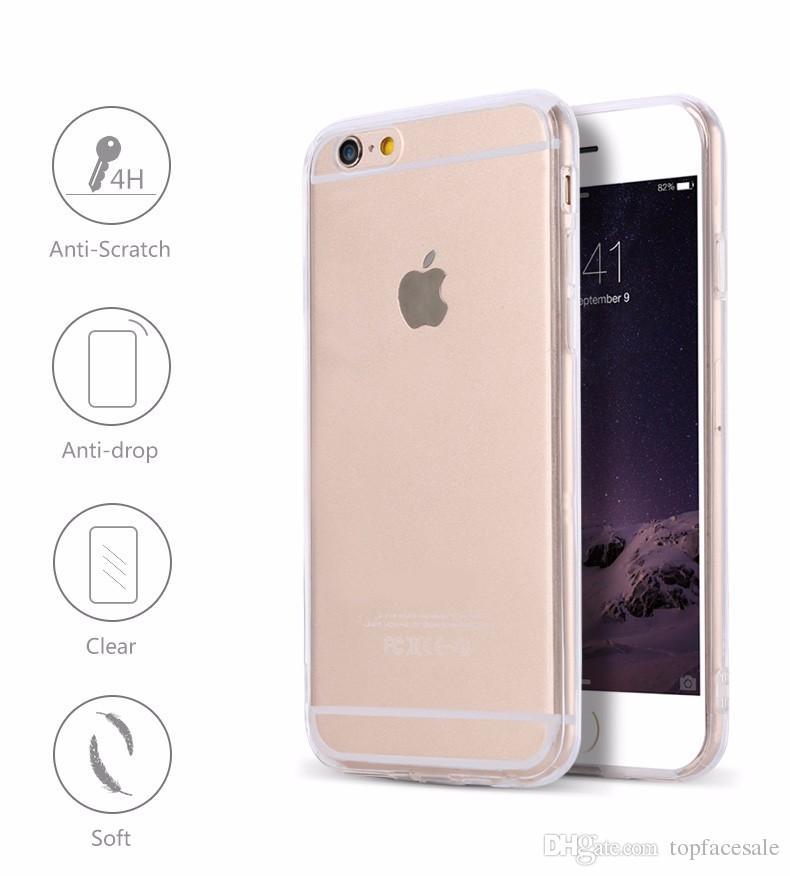 ffddc79c86a Accesorios Celulares Protector Transparente De Alta Calidad Ultra Fino De  0.4mm TPU Clear Crystal Case Para IPhone 8 7/7 Plus / 7 + Accesorios Para  Celular ...