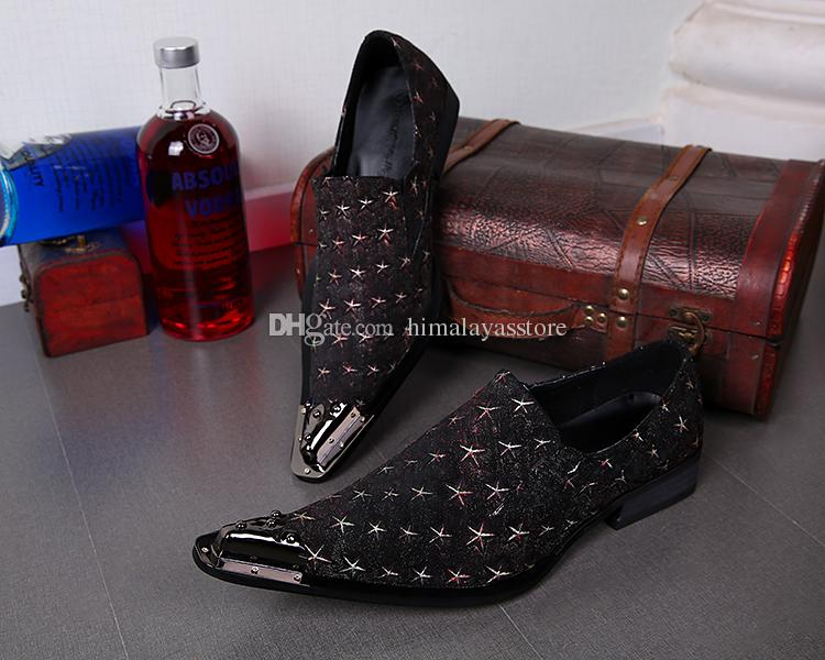 Italiano Mens Adulto Light Up Vestido Sapatos de Couro Genuíno Que Bling Do Partido Sapatos para Homens Sapatos Masculinos Sociais Soulier Despeje Homme