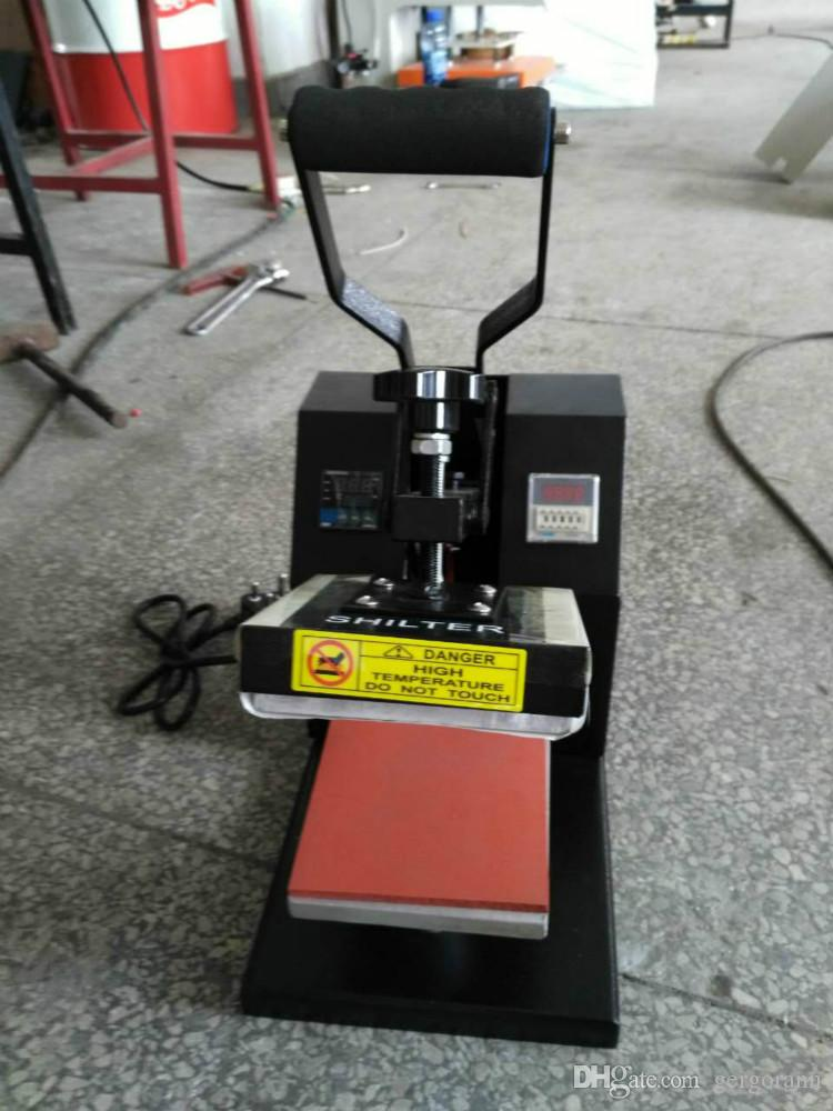 15*15cm economic logo label pyrograph machine pressure Manual Plane Hot Foil Stamping Flat Heat Press Machine