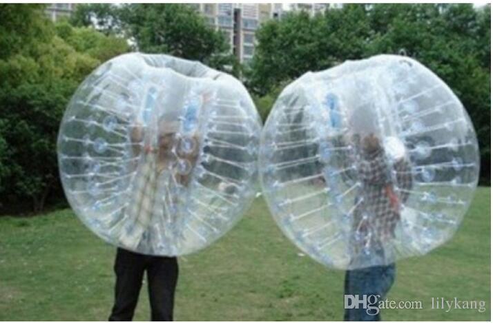 Calcio corpo Zorb bolla sfera del nodo palloncini gonfiabili giocattolo bambini gioco adulti erba pallone da calcio zorbing palle paraurti
