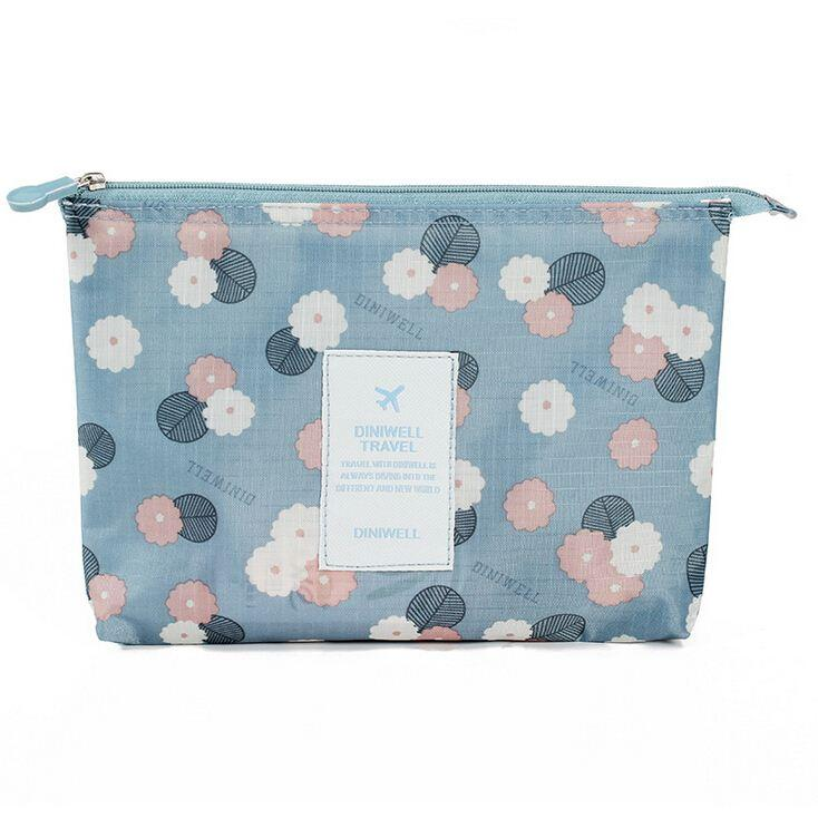 2019 New Women S Cosmetic Bag Flower Pattern Makeup Bag Casual Make Up Bag  Organizer Multifunctional Travel Pockets Handbag HQB1504 From Lwx01, ... f58e4018a1