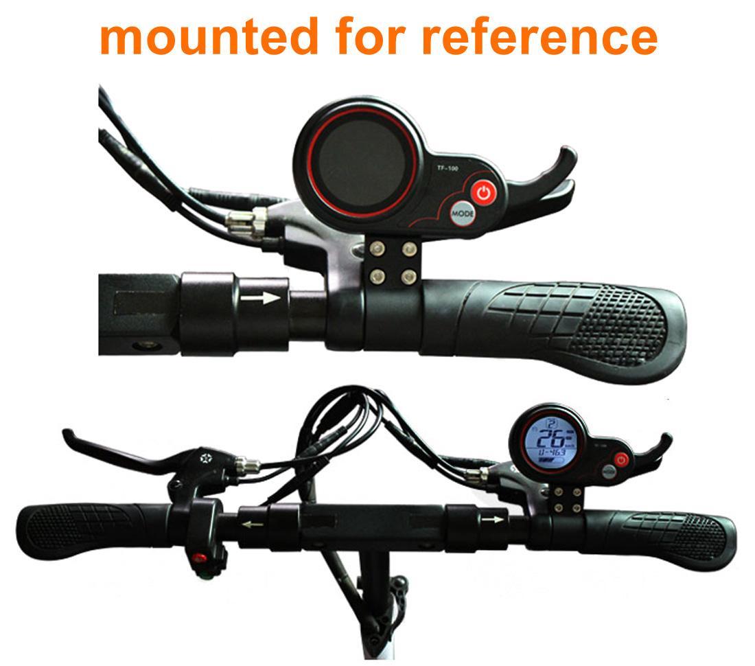 250/350 W Display LCD Scooter Elétrico E Polegar Do Acelerador Controlador de Motor Brushless Elétrica Hub Com Cor Indicador de Tela LCD