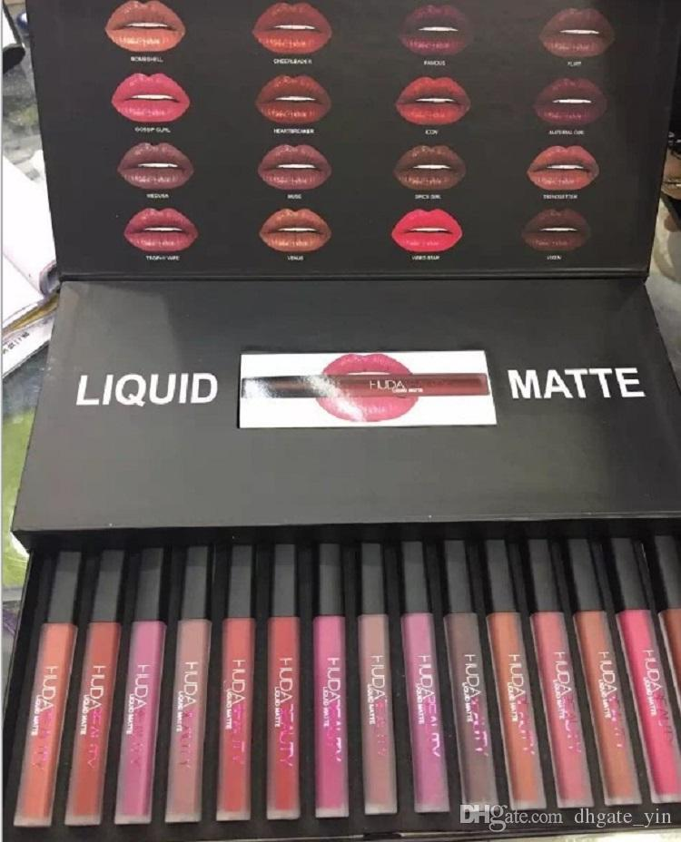 Hot /set Matt Lip Gloss Beauty Liquid lipstick Make up Waterproof Long Lasting Lipgloss Trophy Wife Icon Vixen