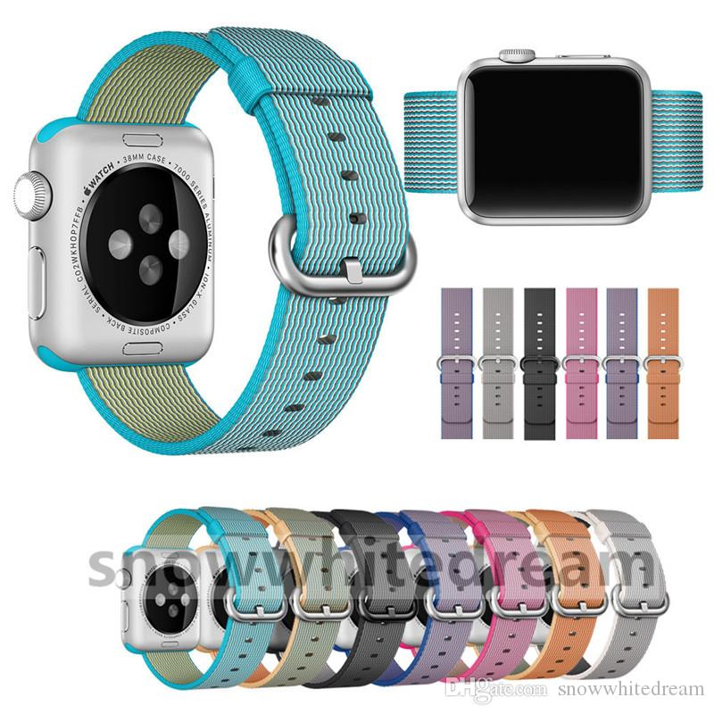 Colorful New Design Nylon Watch Band With Connector Adapter Clip