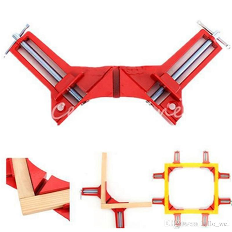 90 degree Right Angle Clamp 100MM Mitre Clamps Corner Clamp Picture Holder Woodwork New Hand Tools