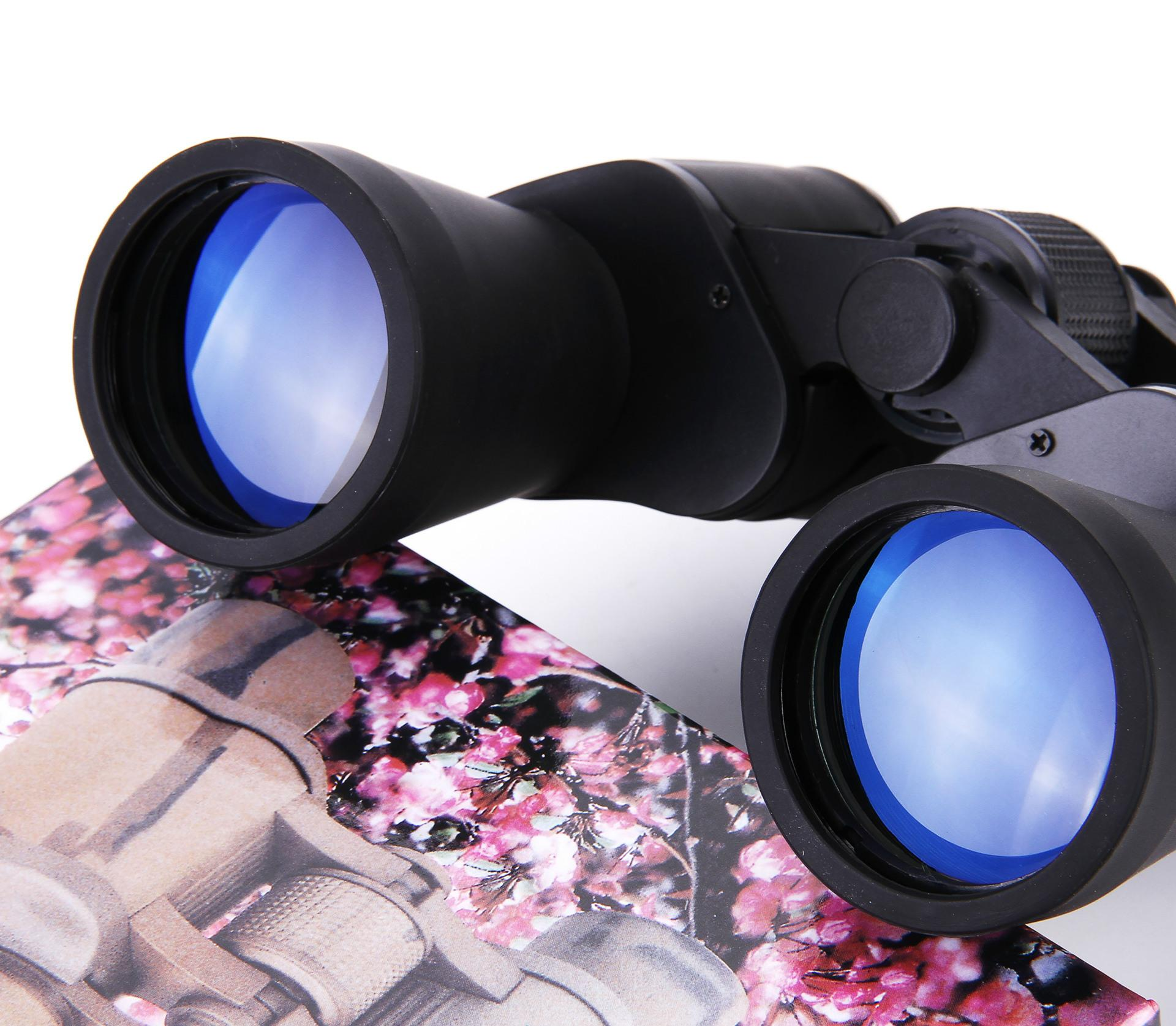 Marca 20X50 Binóculos de Alta qualidade Hd grande-angular Central de zoom dia e Visão Noturna não telescópio infravermelho