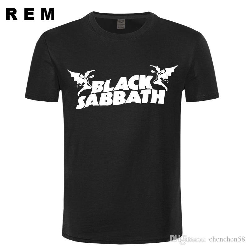 Black Sabbath Classic Heavy Metal Rock Men S T Shirt T Shirt For Men 2017  New O Neck Cotton Top Tee Camisetas Hombre T Shirt Sayings Retro T Shirt  From ... da68c8436adbc