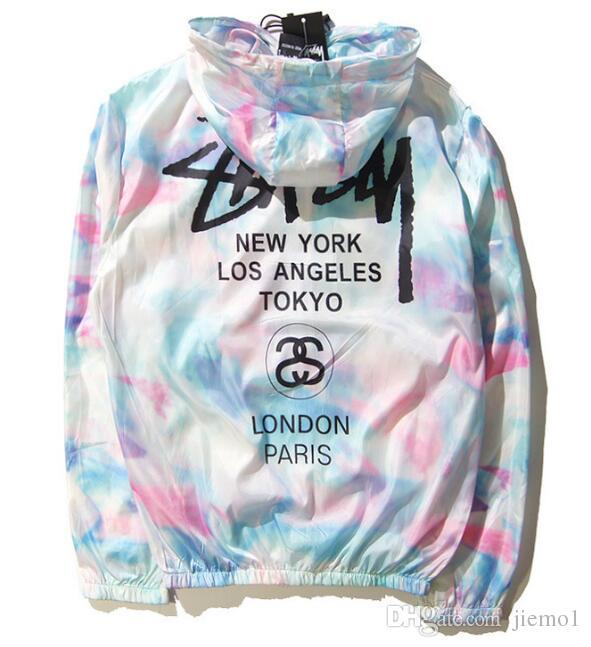 Novas mulheres da moda casacos de homens respingo-tinta dos homens de rua de alta jaqueta moda mens blusão de harajuku mens casacos