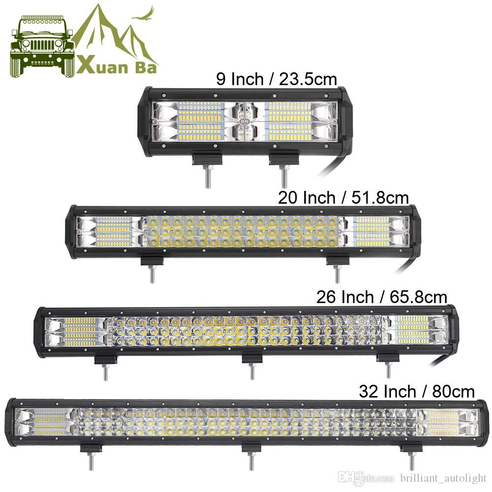 9 20 32 inch 3 row cree led light bar for combo offroad 4x4 4wd atv 9 20 32 inch 3 row cree led light bar for combo offroad 4x4 4wd atv uaz 4wd suv driving motorcycle light truck led work lights auto lamp leds light leds aloadofball Gallery
