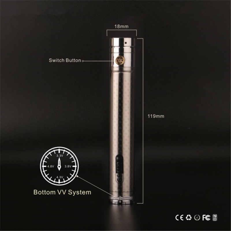 GS Ego II Twist Mega Starter kit 2200mah Electronic Cigarette Vape Pen With V-Core III Atomizer Tank Variable Voltage VV Battery Ecigarette