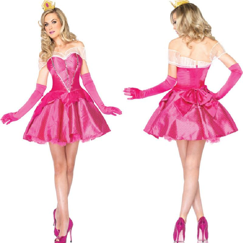 see larger image - Halloween Costume Pink Dress