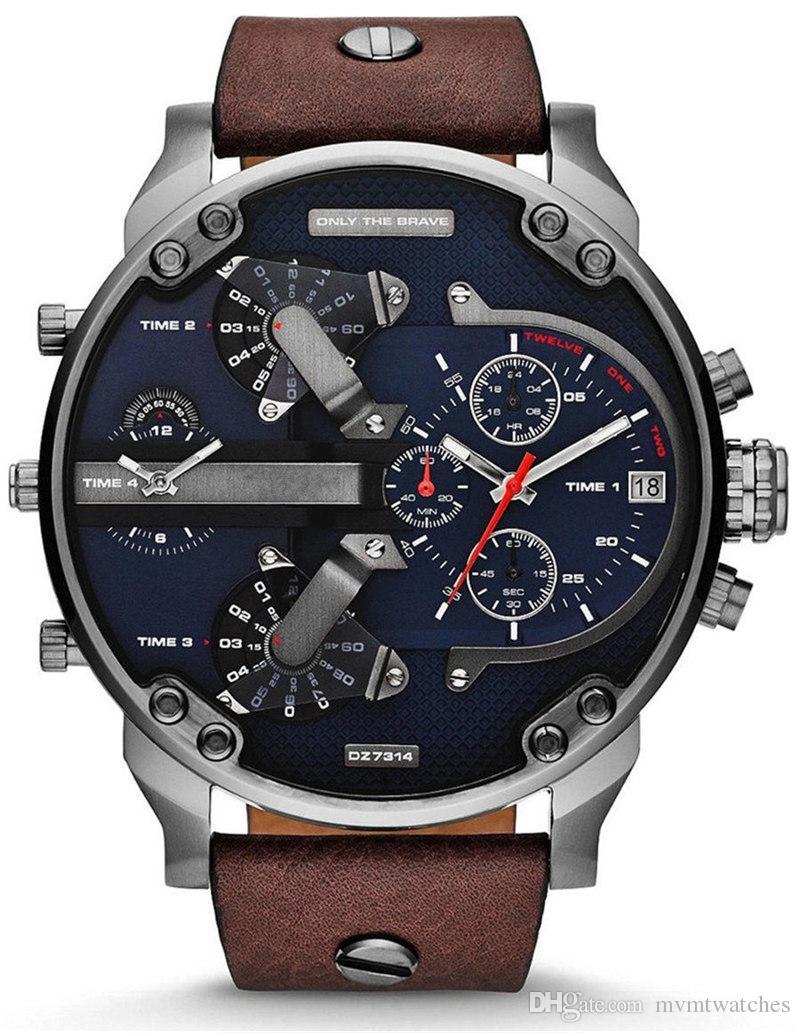watches men luxury brand DZ7311 DZ7313 fashion casual mens quartz watch military montre homme male wristwatch wrist watches relojes
