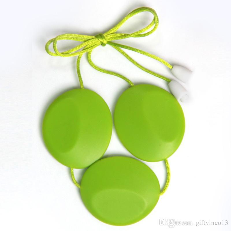 Big Silicone Beads Teething Necklace for Babies Nursing Jewelry Baby Silicone Teethers Chew Toys Pendant Necklace Wholesale