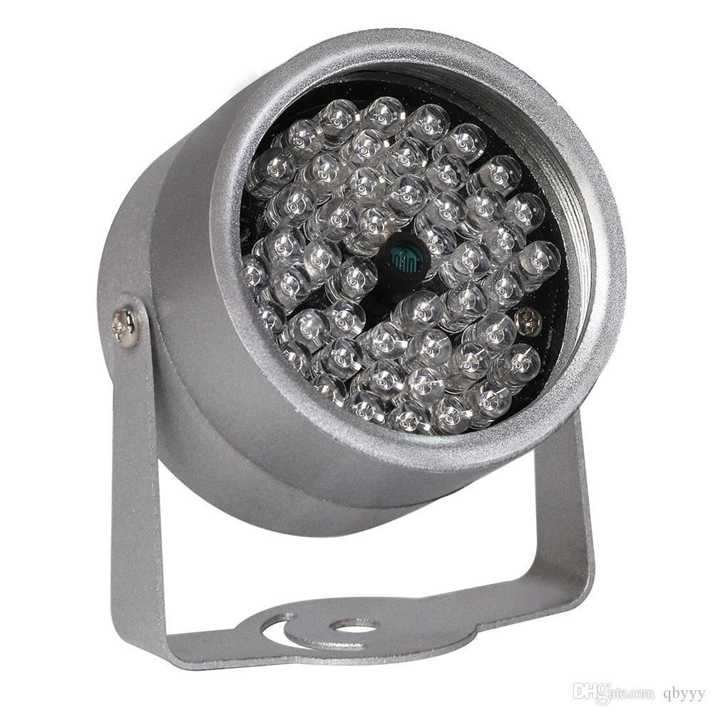 48 LED إضاءة ضوء CCTV IR الأشعة تحت الحمراء للرؤية الليلية في الهواء الطلق المعادن مع ماء لكاميرا مراقبة كاميرا التلفزيون المركزى الصينى