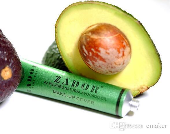 Zador Fine Bar Makeup cover Pure Natural Avocado Oil Professional Face Concealer Makeup Base dhl free