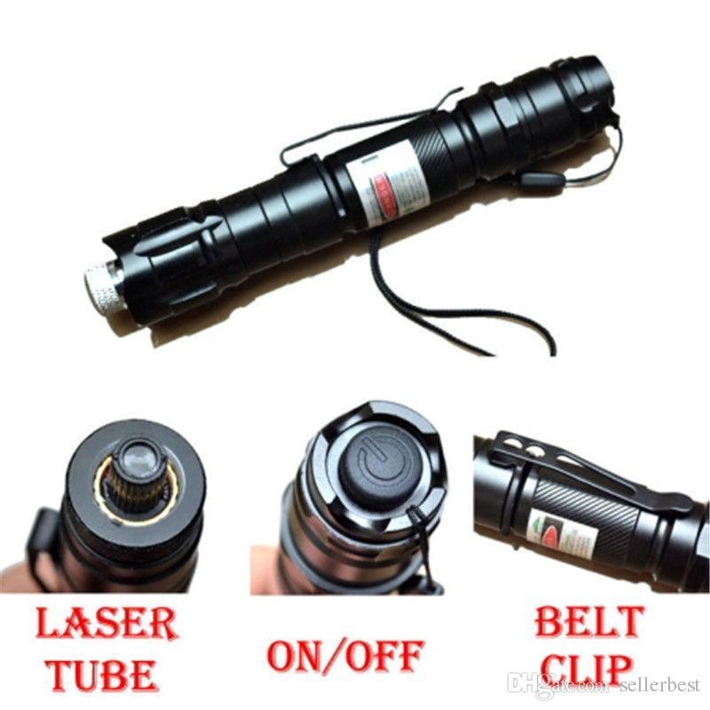 2in1 009 10 Meilen 10 Meilen 532nm Grüner Laserpointer Starker Stift Leistungsstarker 8000M-Zeiger mit Stiftclip mit Ladegerät für Kleinkasten