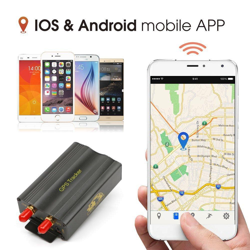 Car GPS Tracker Coban TK103B GSM GPRS Tracking System GPS103B Motorcycle Alarm Location Tracker Remote Control Cut Off Oil Power DHL free