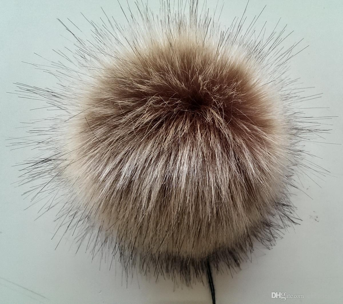 f6aaaa3d0f4 Mix Brown 10cm Faux Fur Balls for Decoration