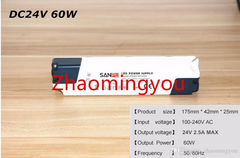 10 PZ Alimentatore Switch 12V 24 V Led Strip Adattatore di alimentazione AC 100-240V a DC 12 V 24 V 15 W 35 W 60 W trasformatore di illuminazione a led