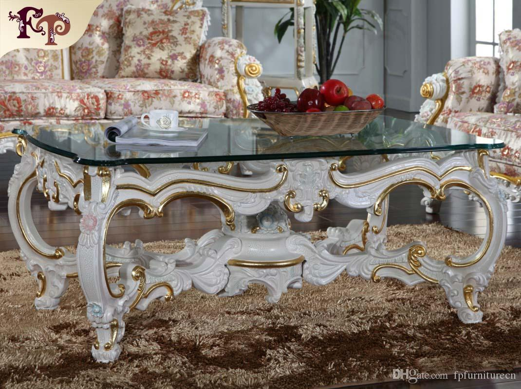 Merveilleux 2018 Baroque Style Living Room Furniture Royalty Classic Coffee Table  Italian Coffee Table From Fpfurniturecn, $1229.79 | Dhgate.Com
