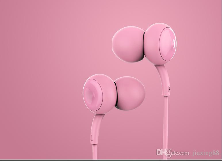 Remax / Rui 510 auriculares oreja niñas generales Corea Mini auriculares cute red Apple Android rojo