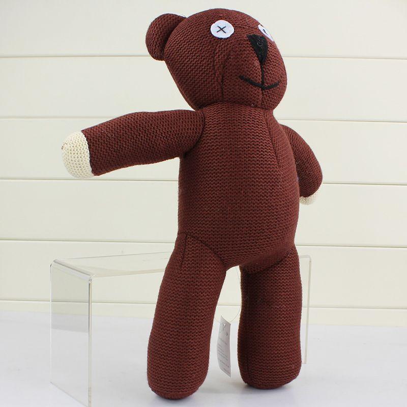 Mr Bean Teddy Bear Animal Stuffed Plush Toy,22cm Brown Figure Doll