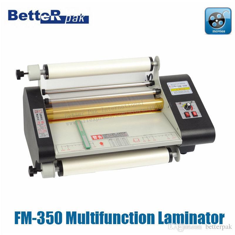 FM-350 Multifunction Paper Laminating Machine, Photo Paper,catalog ...