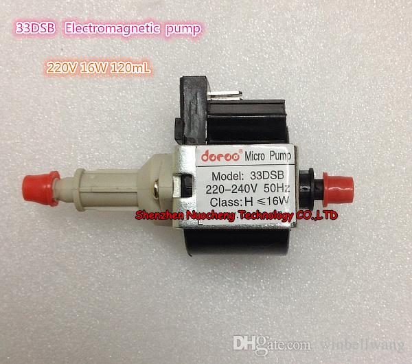 33DSB Elektromagnetische Pumpe 220V 16W Dampfbügeleisen Medizinpumpe selbstansaugende Pumpe micor Magnetpumpe ~