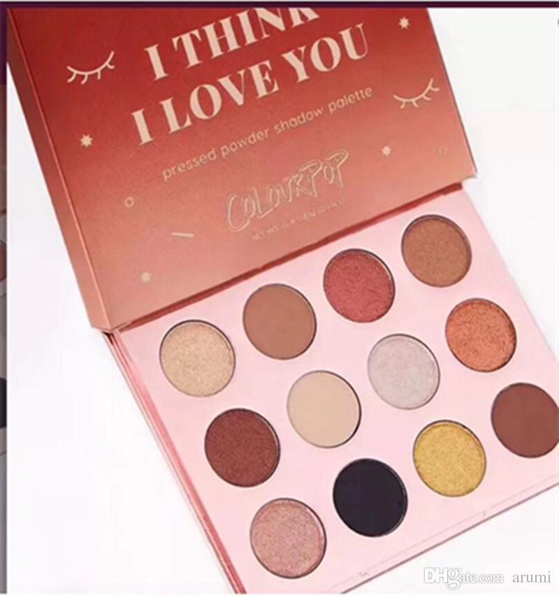 Colourpop Cosmetics X Karrueche Karrueche Fem Rosa Lei penso che ti amo Pressato Powder Eyeshadow Palette i Ombretto