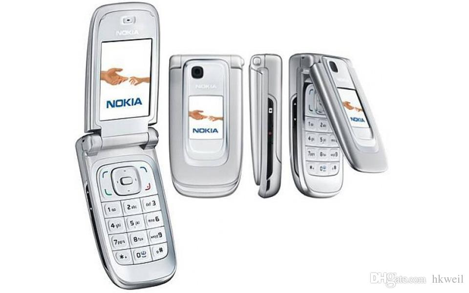 NOKIA Rinnovato 6131 del telefono mobile da 2.2 pollici dello schermo Quad Band GSM 2G sbloccato Filp del telefono cellulare
