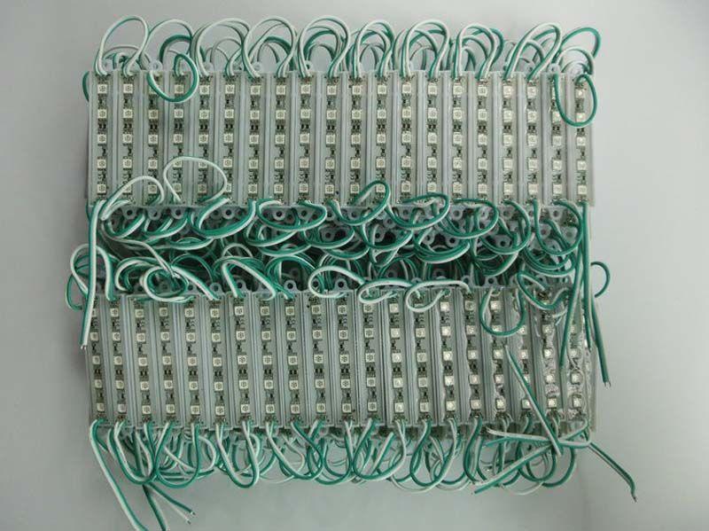 5050 5 Módulos de LED DC12V À Prova D 'Água ip65 iluminação, Módulos de Luz de Sinalização Traseira de LED, Publicidade Módulos de Caixa de Luz, 100 Pçs / lote