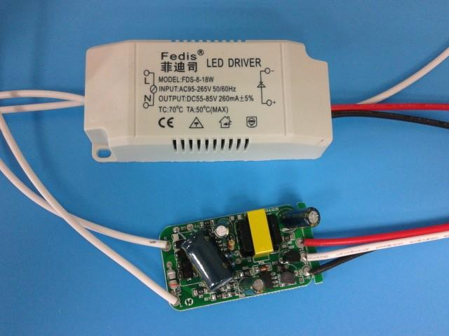 Change 8 18w Power Supply Ac Dc Adapter Transformers Changeble For Led Ceiling Light Bulb Driver