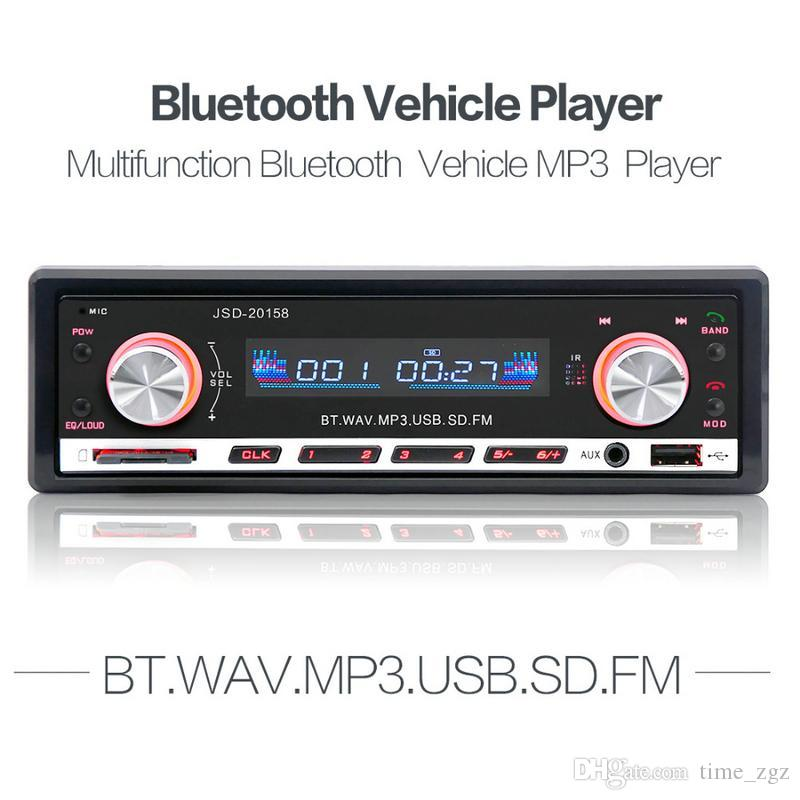 jsd 20158 12v car radio stereo player bluetooth phone mp3 fm usbjsd 20158 12v car radio stereo player bluetooth phone mp3 fm usb charging car audio player with remote control car stereo system installation car stereo