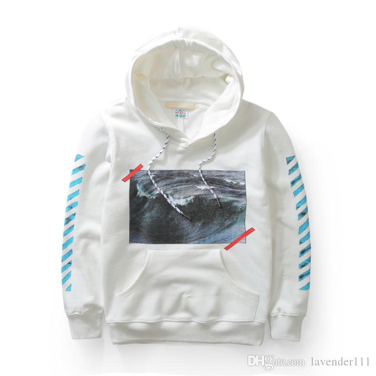 7f1b9b7cba48 Perfect Top Version OFF WHITE Pyrex Vision Sea Wave Religion Painting  Hoodies Sweatshirts OFF-White C o VIRGIL ABLOH Hoodie Online with   77.72 Piece on ...