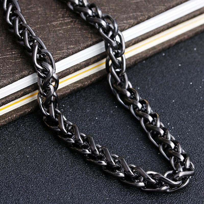 MCW Hip Hop Style Trousers Chain Hiphop Cowboy Ornament Waist Chain Necklace Nightclub Heavy Metal Style Thick Chain 70CM
