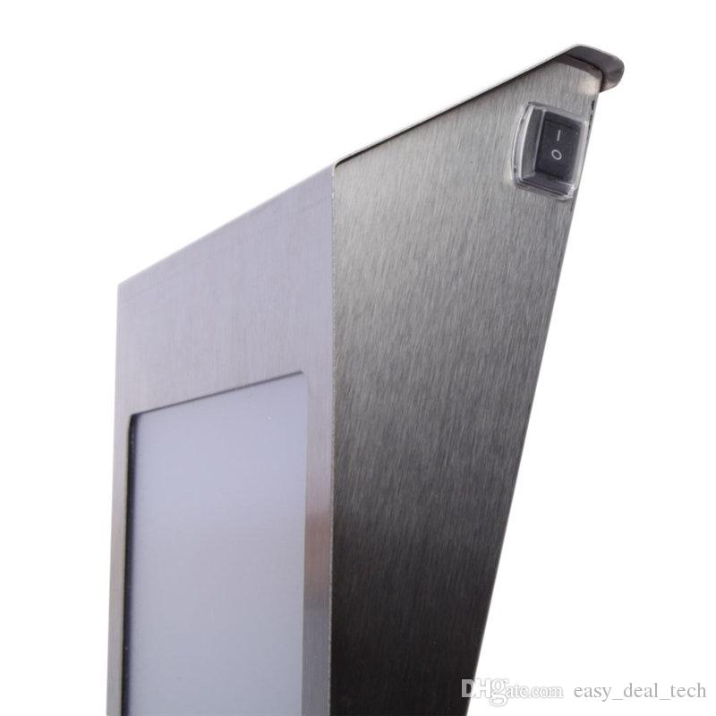 New Brand Solar Light Doorplate Lamp NEW Light-Operated Led Billboard 3LED Lamp Of House Number Apartment Led Solar Light ZJ0593