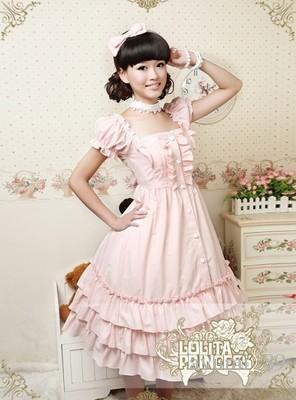 LLT019 Lolita Dresses Short Sleeveless Sweet Lolita Short Dress Ball Gown Fancy Prom Dress Halloween Party Masquerade Costume