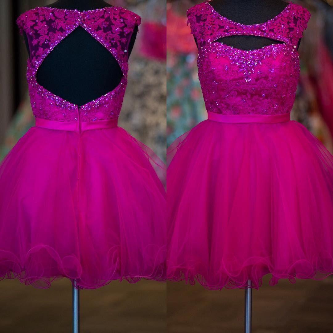 Increíble Prom Dresses Hot Pink Ideas Ornamento Elaboración ...