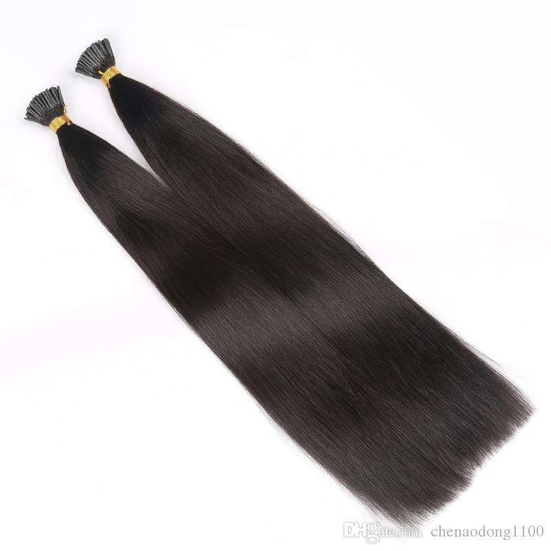 9a I Tip Human Hair Extensions Wholesale Price European Virgin Human