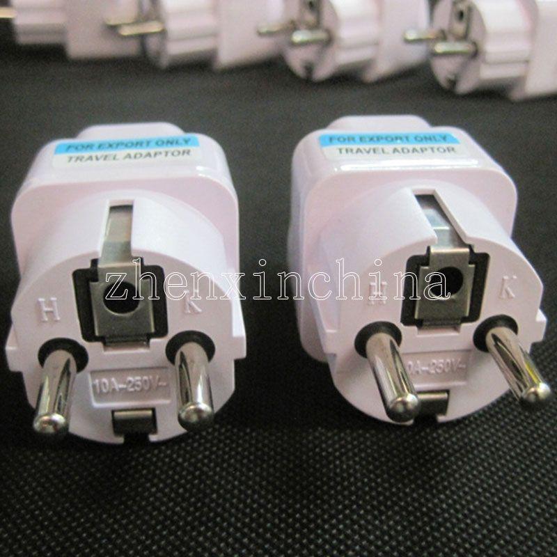 Universal Travel Charger Adapter UK/US/AU To EU Plug Adapter Converter European 2 Pin AC Power Electrical Plug Adapter Socket