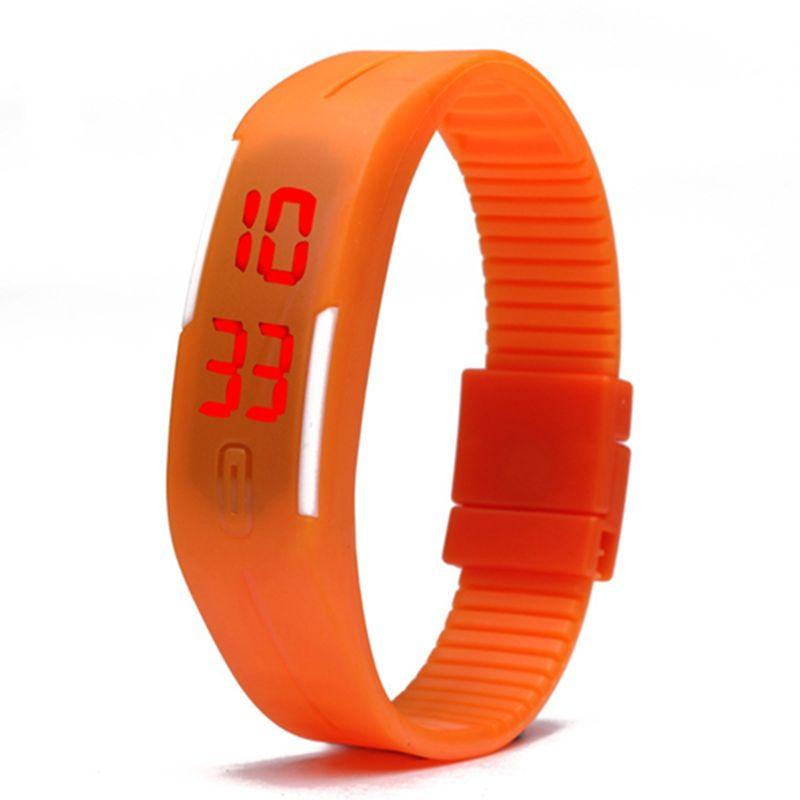 Touch Screen LED Bracelet Digital Watches For Men&Ladies&Child Clock Womens Wrist Watch Sports Wristwatch