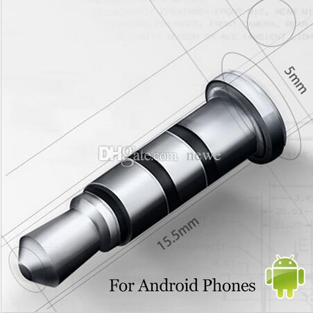 3.5 MM Kulaklık Jakı Akıllı Anahtar Kısayollar Toz Fiş Android Cep Telefonu için Klick Hızlı Düğme