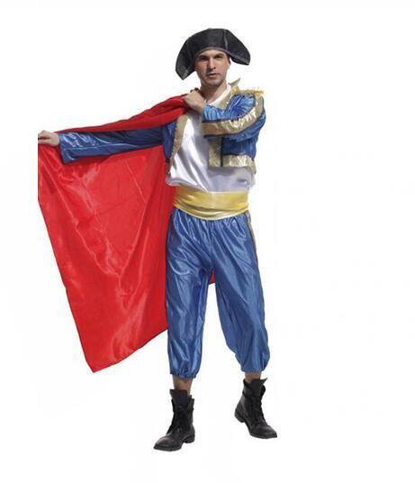 c4d8c48e2 2017 Men Cosplay Costume Traditional Festival Spanish Matador Performance Clothing  Toreador Costume Costume Themes Good Group Costumes From Xingfu2014