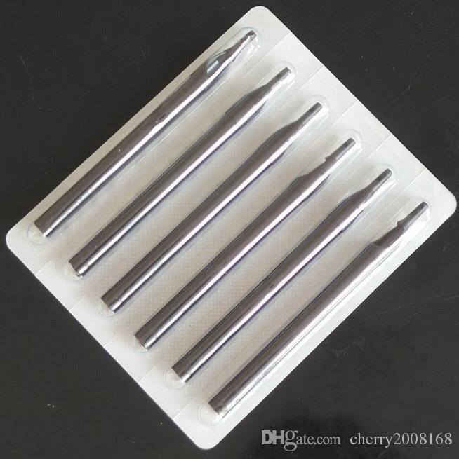 혼합 크기 3RT 5RT 7RT 9RT BLACK 긴 일회용 타투 튜브 팁 노즐 새로운 DIAMOND