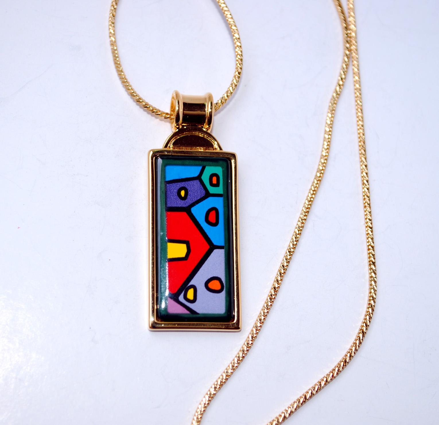 rectangle international en store online website official dmtd rectangular fashion versace rectanglemedusapendantnecklace necklaces gold accessories for necklace men chains jewelry medusa pendant