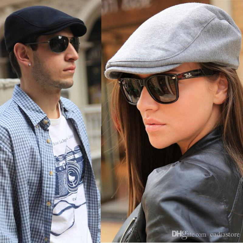 2019 Vintage Hat Flat Cap Cotton Beret Hat Unisex C00116 CADR From  Cadiastore 2c0fe760707